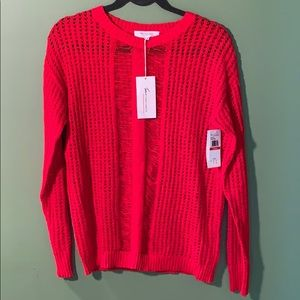 BRAND NEW Red Vince Camuto sweater